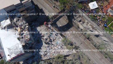 Photo of Torre Annunziata. Una fiaccolata in memoria del crollo di luglio