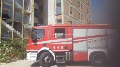 Photo of Castellammare. Vasto incendio alle Nuove Terme: fiamme vicino alle case