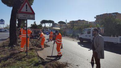 """Photo of Mugnano.Partita la pulizia della circumvallazione, il sindaco: """"Siamo attenti alle esigenze delle periferie"""""""