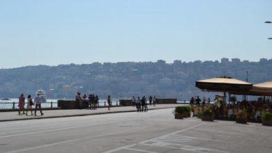 """Photo of Napoli. In estate idea """"Villaggio Movida """" sul lungomare"""