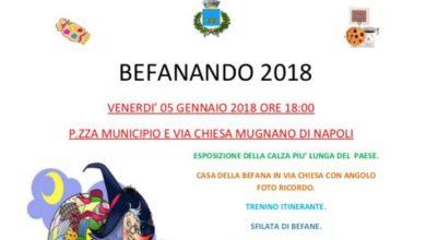 """Photo of Mugnano. Torna la calza più lunga d'Italia con l'evento """"Befanando 2018"""""""