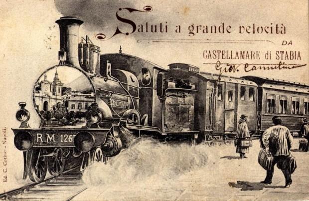 Photo of La prima ferrovia d'Italia, Napoli – Castellammare