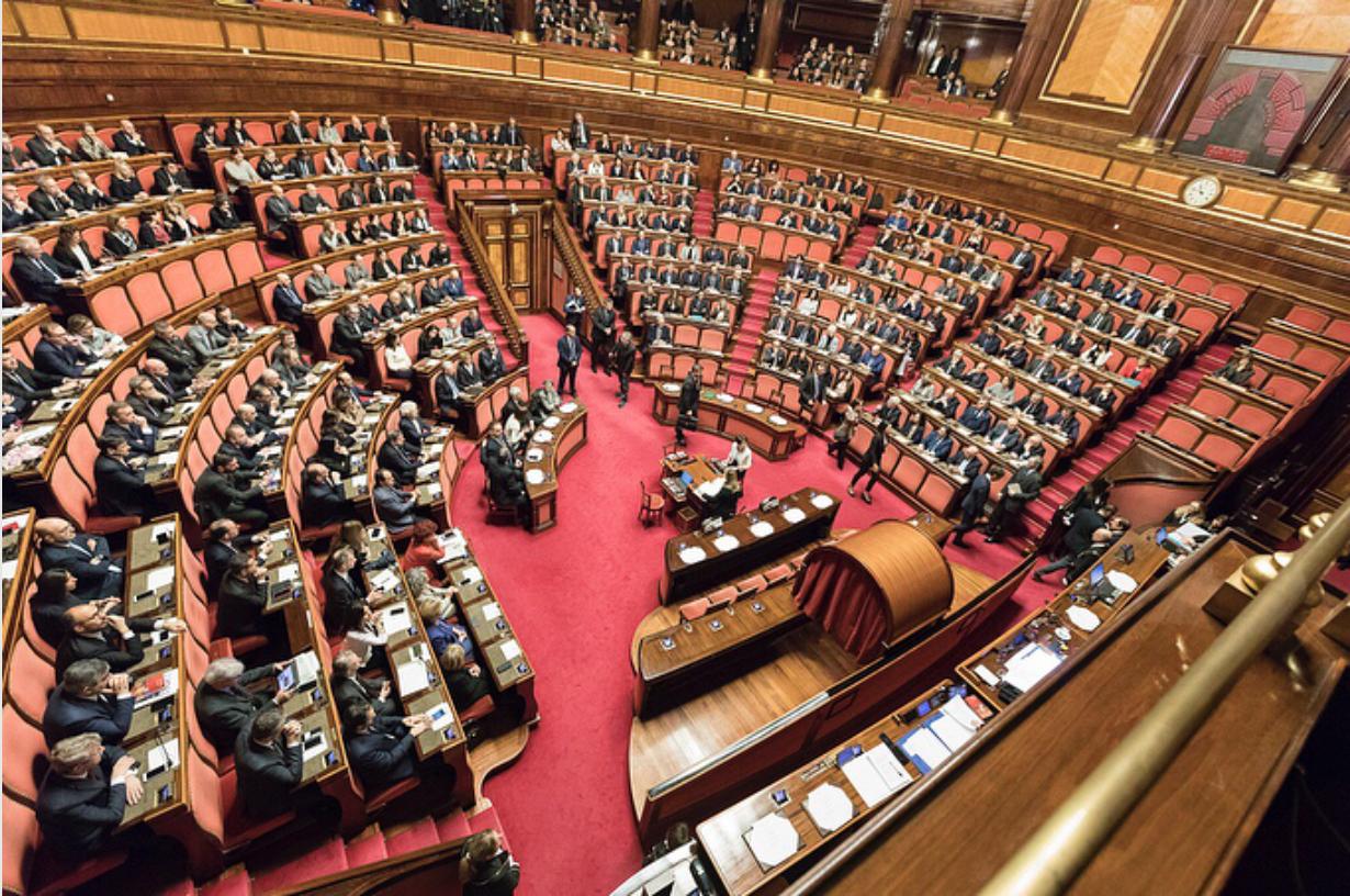 Senato composizione dei gruppi completata il pi grande for Senato composizione