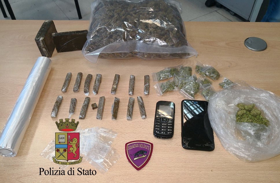 Falcone (Me): spaccio di droga, un arresto