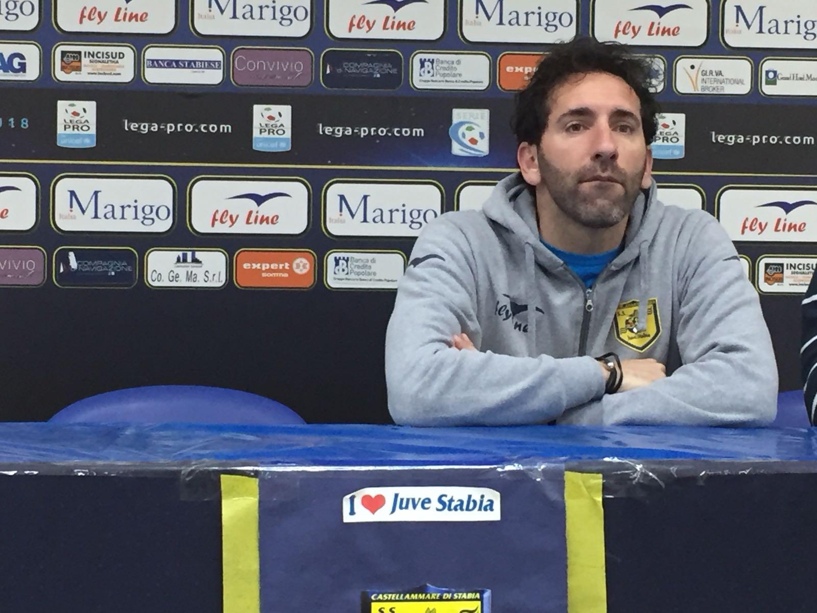 """Photo of Juve Stabia, Caserta: """"Sono felice per il risultato, adesso testa al Rende"""""""