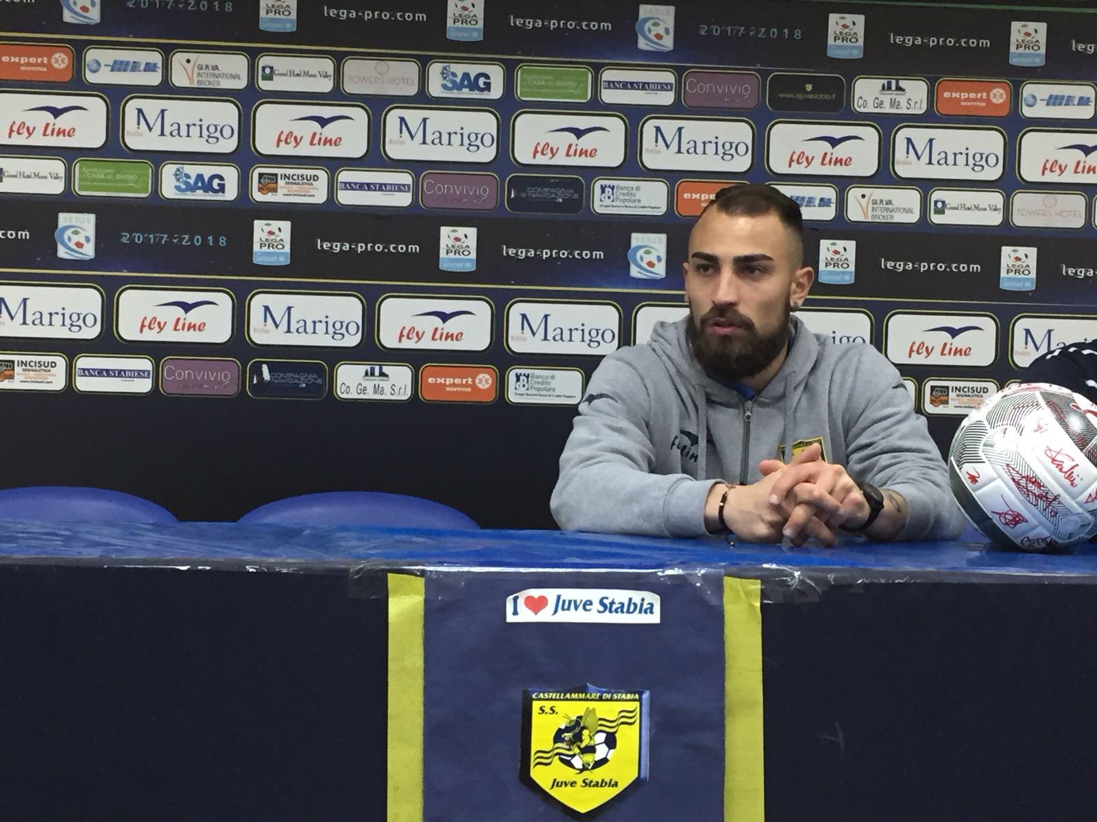 """Photo of Juve Stabia, Simeri: """"Sono arrivato in doppia cifra, adesso non voglio fermarmi"""""""