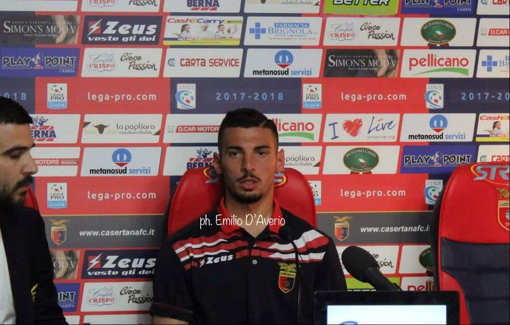 """Photo of Casertana, De Vena: """"Contento per il gol. Mi sentivo carico"""""""