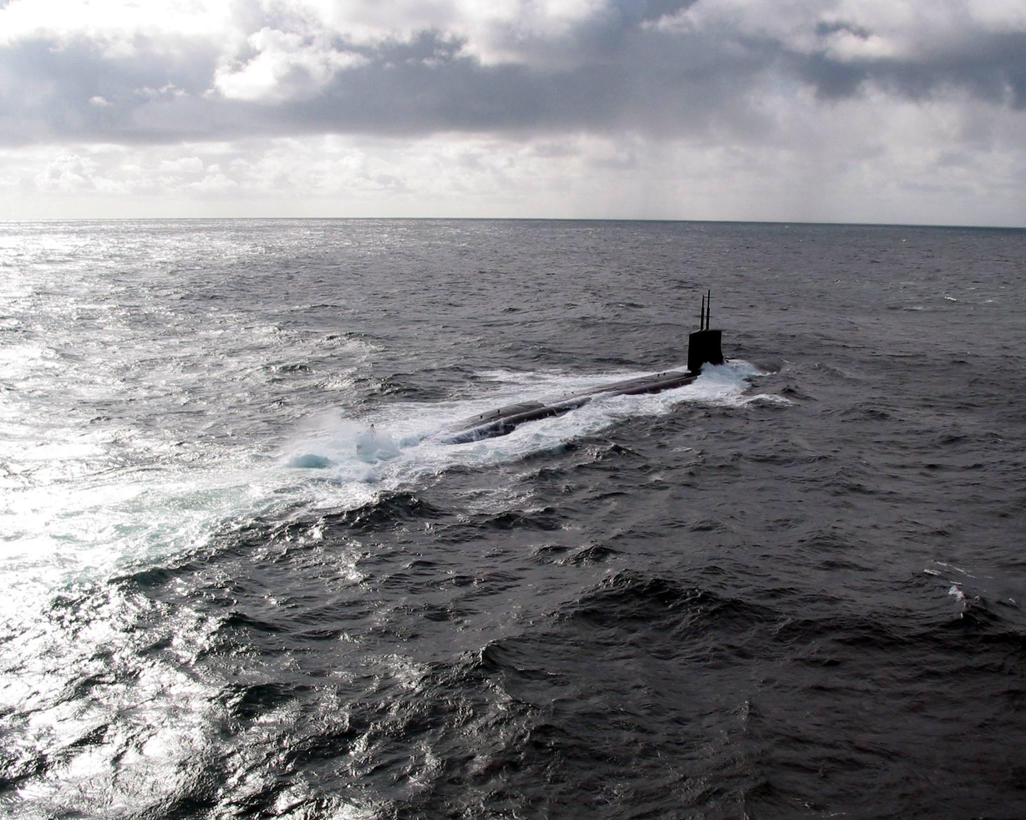Sottomarino nucleare USA nel Porto di Napoli