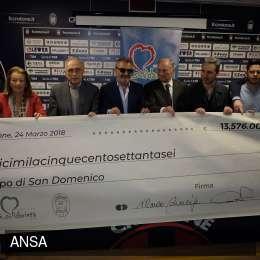 Photo of Il Crotone ha raccolto e donato 13.776 euro ad una parrocchia