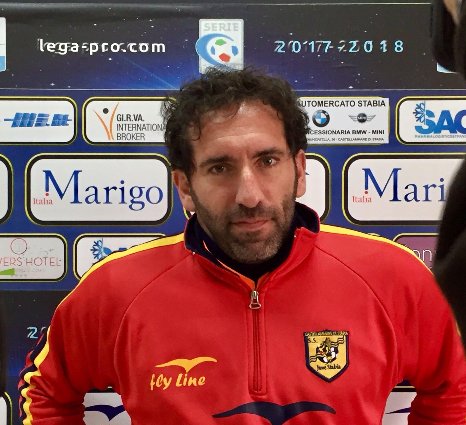 """Photo of Juve Stabia, Caserta: """"Contro il Catania siamo stati bravi. Con il Monopoli sfida che vale il quarto posto"""""""
