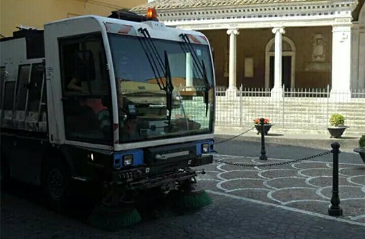 Photo of Sarno, rubata la spazzatrice della ditta incaricata ai lavori stradali