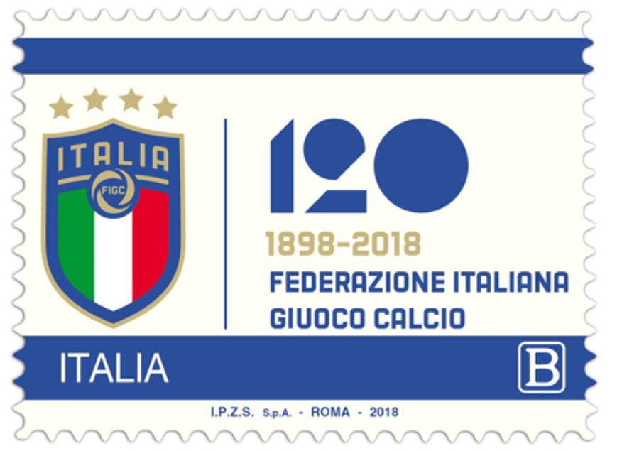 Photo of Poste, emesso francobollo celebrativo per 120esimo anniversario FIGC