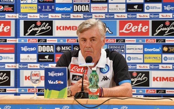 """Photo of Napoli, Ancelotti: """"Hamsik da regista è top, Inglese può fare benissimo"""""""