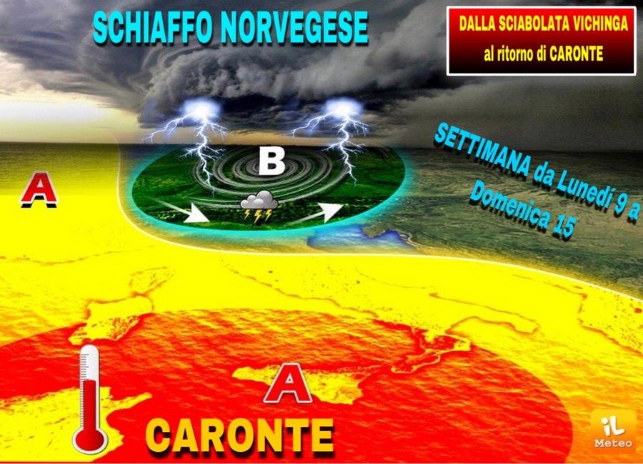 Photo of Meteo. Da settimana prossima Italia divisa in due: grandine al nord, oltre 40 gradi al sud