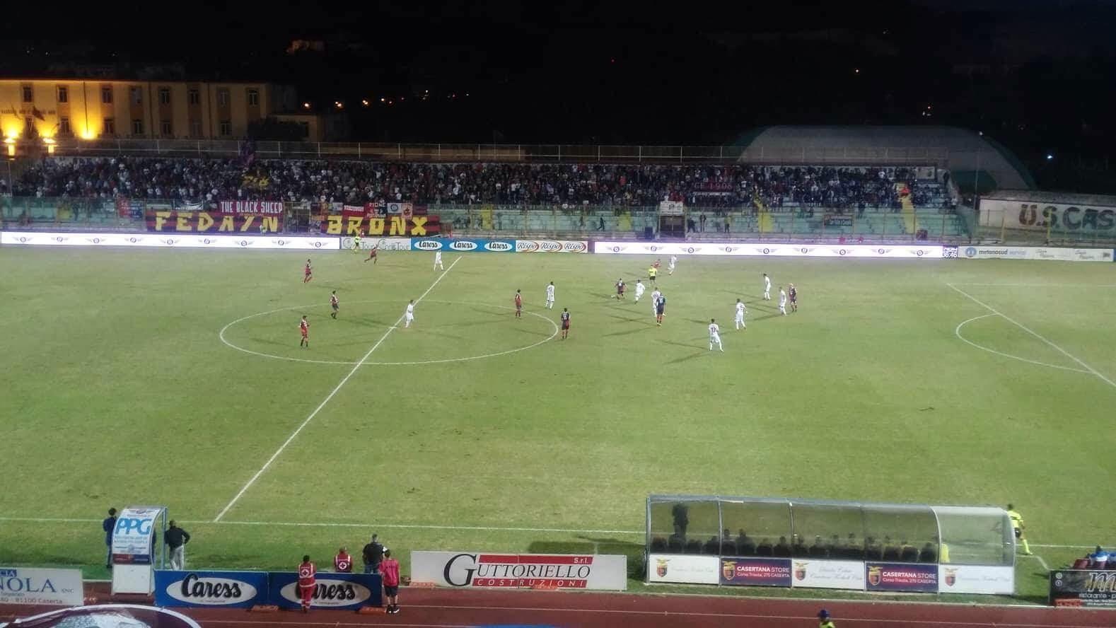 Photo of Casertana, emozioni e sorrisi al Pinto: vittoria in rimonta sul Catanzaro. È 2-1