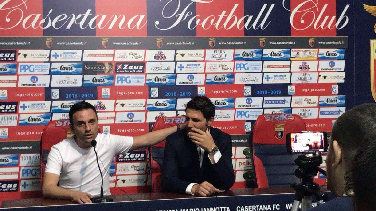 Photo of Casertana, le parole di Martone e Fontana in sala stampa