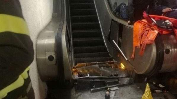Photo of Cede la scala mobile: feriti tifosi del Cska Mosca