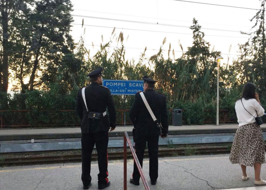 PompeiScavi-Carabinieri