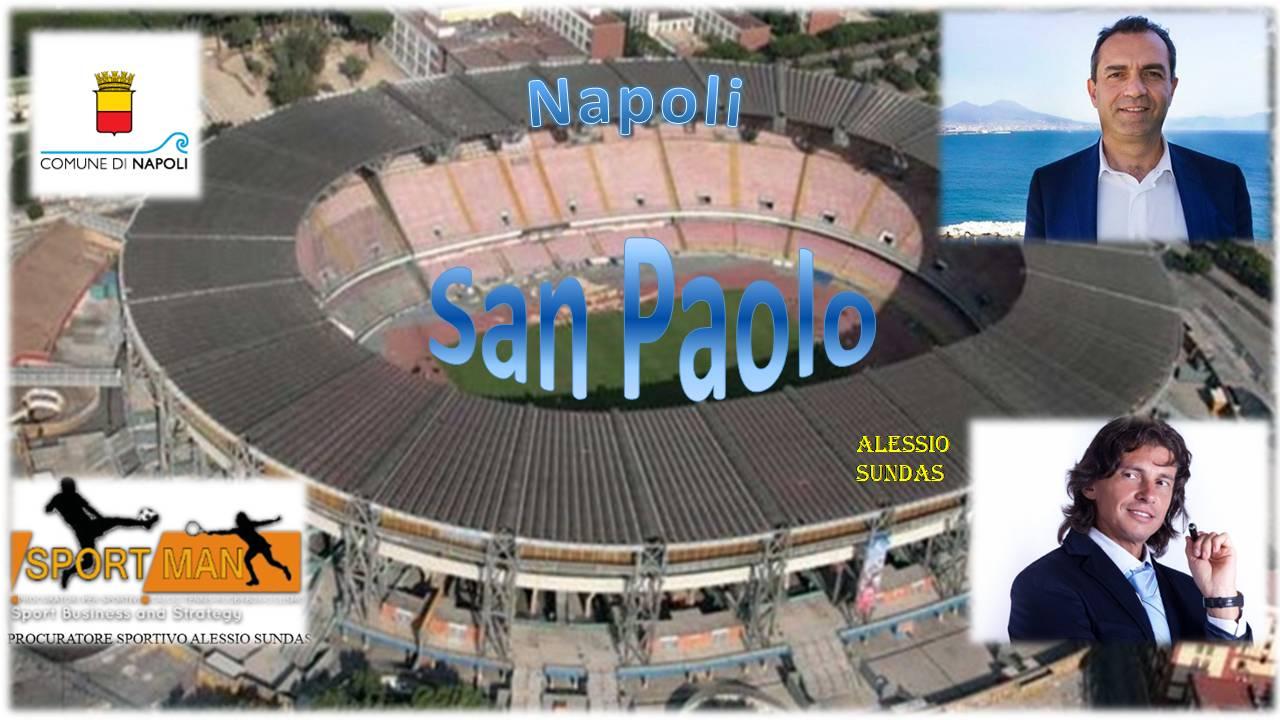 Photo of Restyling San Paolo, l'aiuto arriva dal procuratore sportivo Alessio Sundas: troverà lui gli sponsor