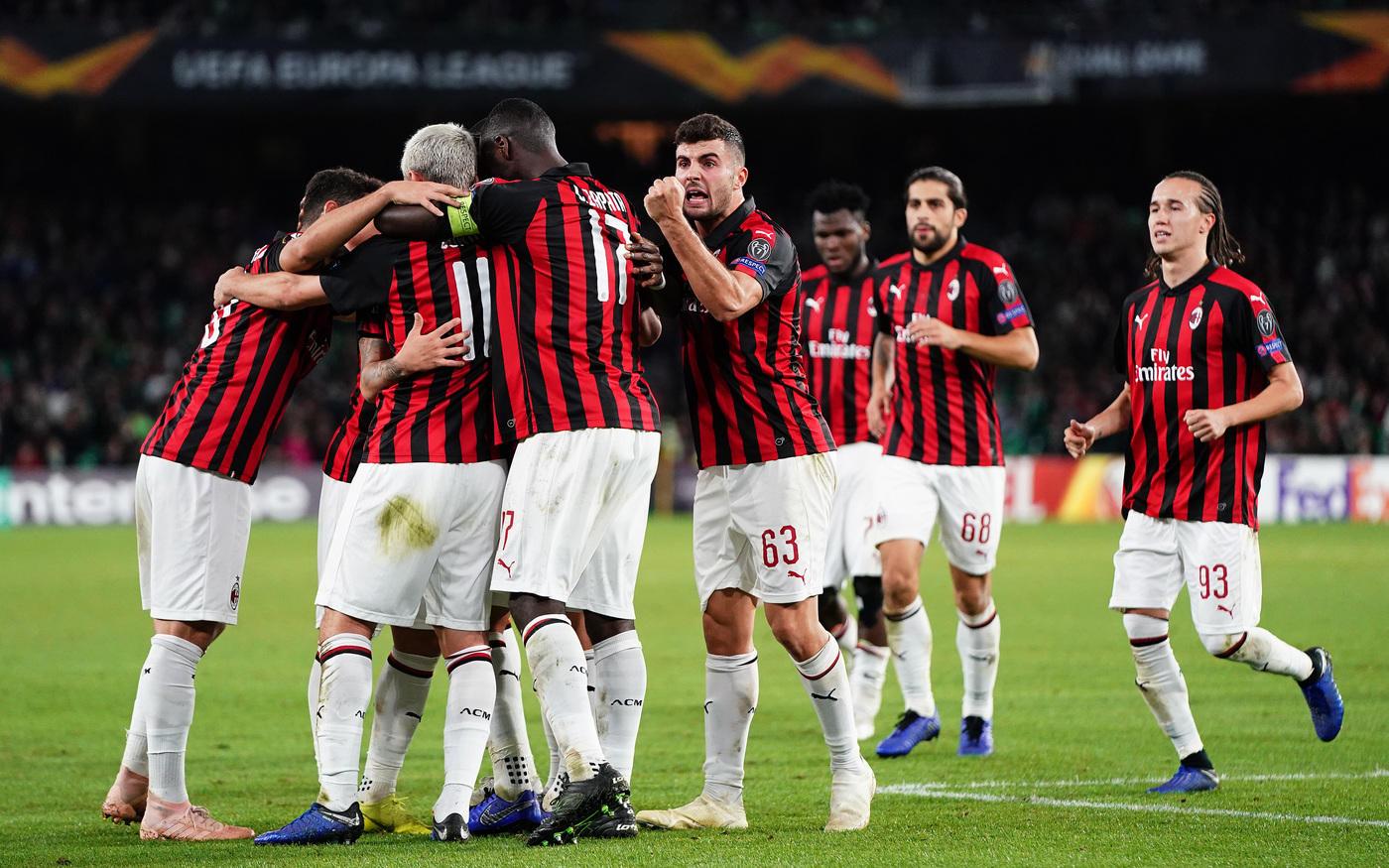 Photo of Milan, ora la qualificazione ai sedicesimi si complica: 1-1 con il Betis e terzo posto nel girone