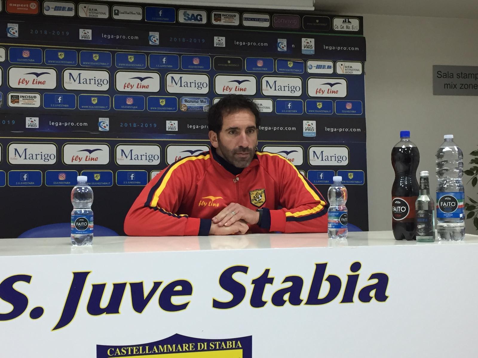 """Photo of Juve Stabia, Caserta: """"I miei ragazzi sono eccezionali"""""""