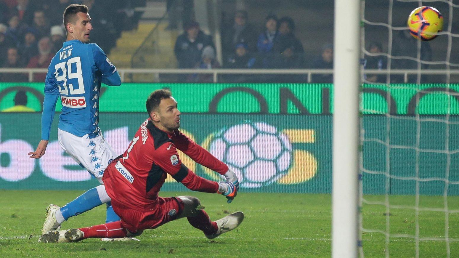 Photo of Napoli. La risolve Milik nel finale. Atalanta beffata: è 1-2