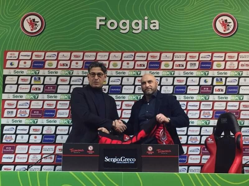 """Photo of Foggia. La presentazione di Padalino: """"Il mio sogno era tornare qui"""""""