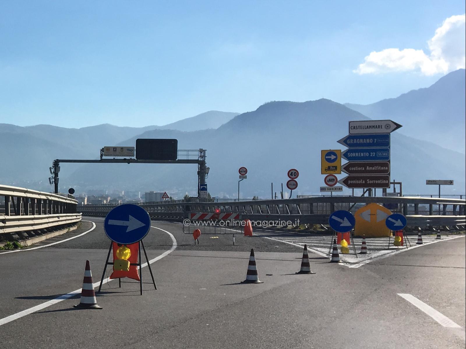 """Photo of Viadotto San Marco chiuso e lavori al raccordo stabiese, il sindaco di Sorrento scrive al Prefetto: Turismo a rischio"""""""