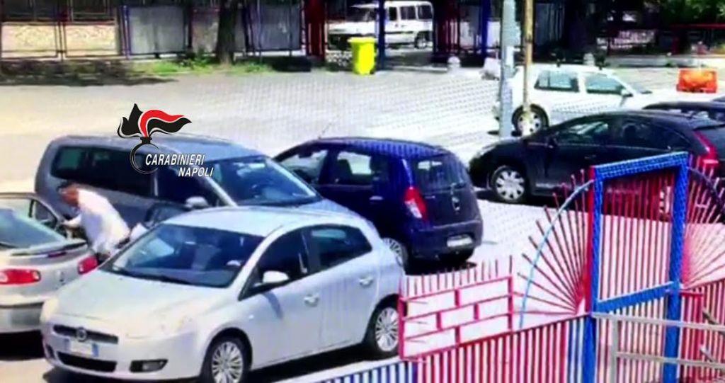 Photo of Pompei. Ruba nelle auto dei turisti ma viene ripreso dalle telecamere di videosorveglianza: preso 26enne