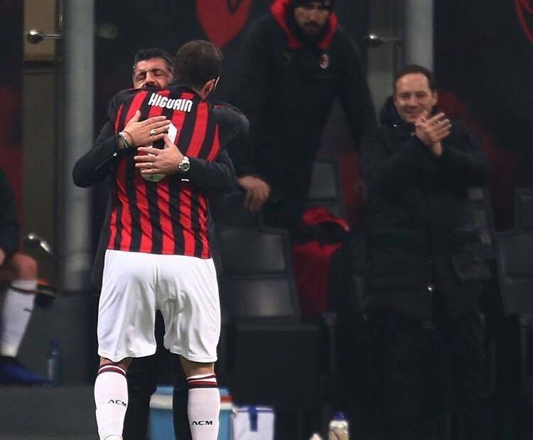 Photo of Milan-Spal, pianto liberatorio: Gattuso e Higuain chiudono l'anno nel migliore dei modi