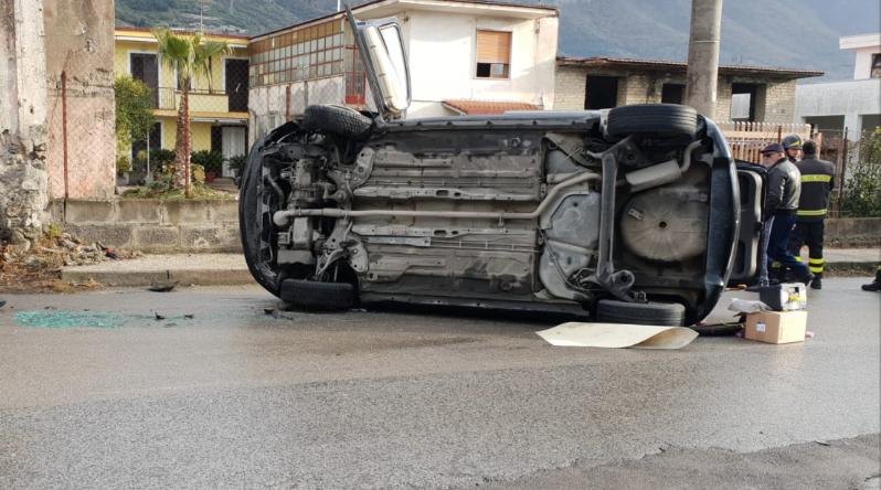 Photo of Sarno. 86enne si ribalta con l'auto e muore