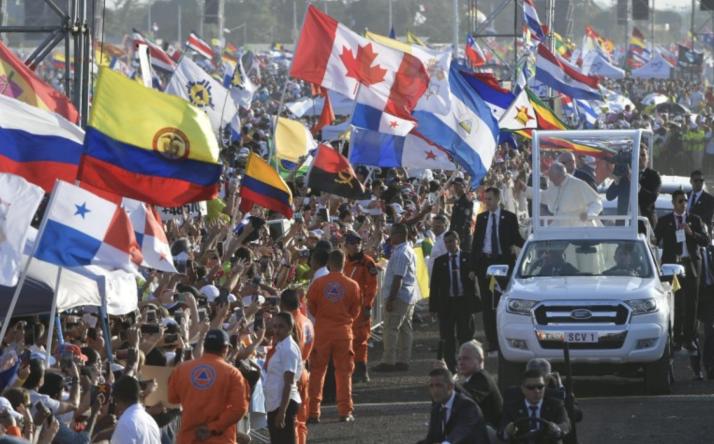 Photo of Conclusa la Gmg il Papa fa rientro in Italia: oltre 700mila i giovani che hanno partecipato a Panama