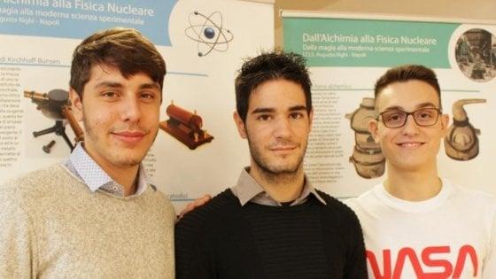 Photo of Partita stamattina per gli USA la delegazione di giovani programmatori italiani per Zero Robotics: presenti anche i tre napoletani