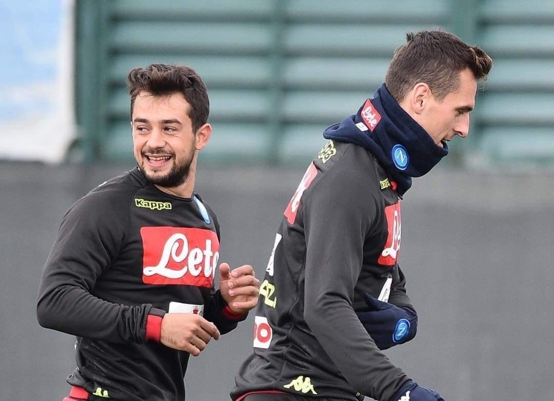 """Photo of Napoli, seduta mattutina in vista dell'Arsenal. De Iesu sul tema sicurezza: """"Nessun allarme"""""""