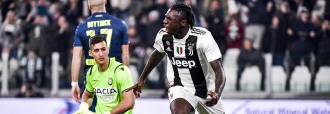 Photo of Tutto facile per la Juventus: 4-1 sull'Udinese con un Kean straordinario