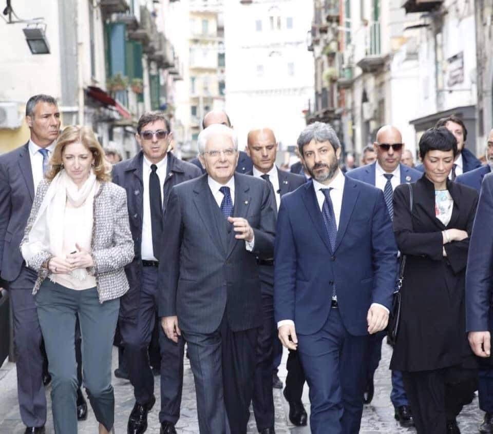 Photo of Mattarella e Fico a Napoli. Tappa a Capodimonte poi al rione Sanità