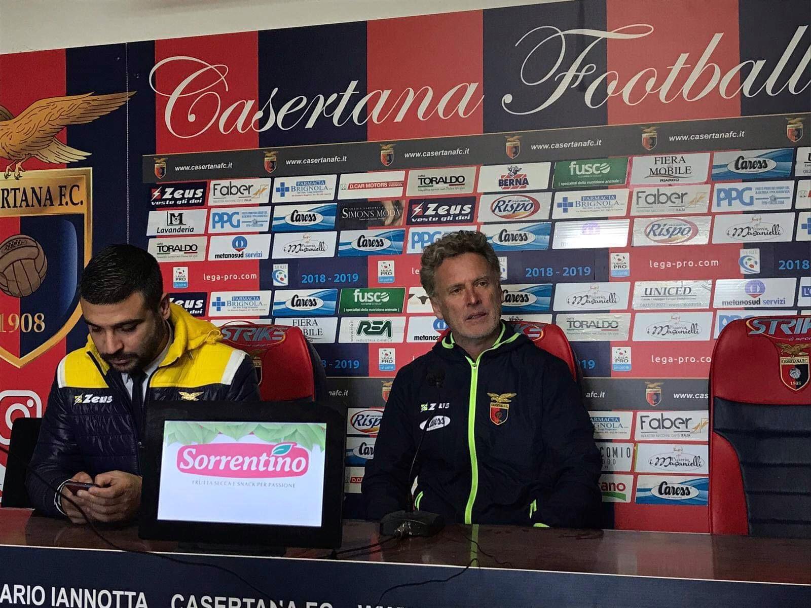 """Photo of Casertana, Pochesci: """"La squadra ha giocato bene. Castaldo non deve fermarsi"""""""