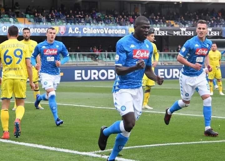 Photo of Il Napoli cala il tris al Chievo: ci pensano Koulibaly e Milik. Clivensi in B