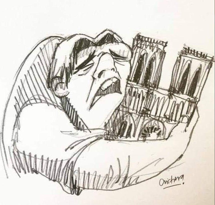 """Photo of Notre-Dame, la struttura è salva: l'Isis celebra il rogo e commenta: """"E' una punizione divina"""""""