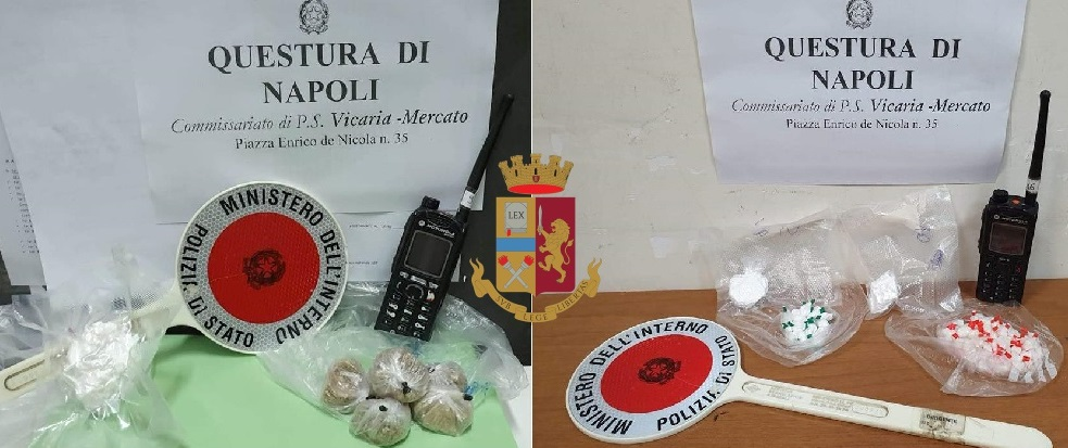 Photo of Napoli. Sorpresa con droga in casa: in manette 27enne