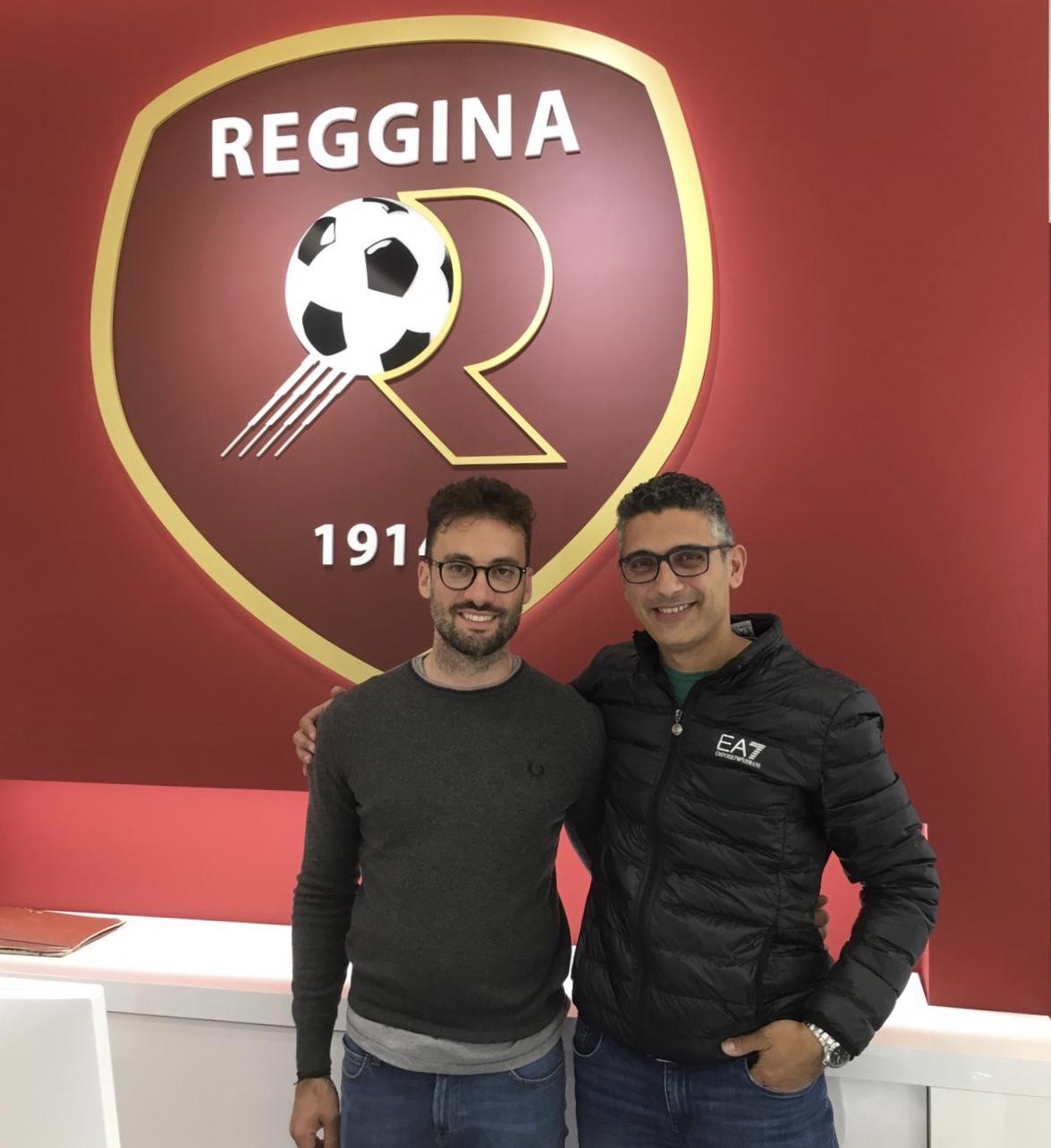 """Photo of Reggina. Inaugurata la sede, l'Archt. Iaquinta: """"Il progetto è nato dall'ispirazione alla storia amaranto, è sempre bello lavorare nella tua città"""""""