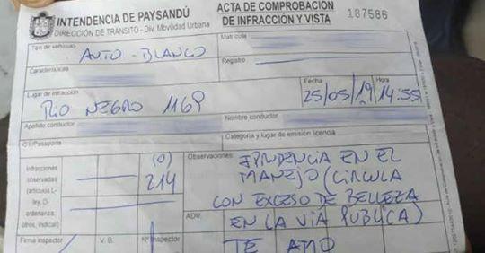 Photo of Uruguay. Multa ragazza alla guida perché troppo bella, agente rischia il posto