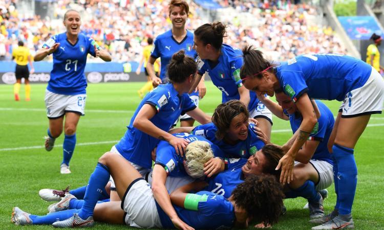 Photo of Mondiale femminile, show dell'Italia: 5-0 alla Giamaica e Ottavi di finale raggiunti