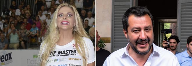 """Photo of Matteo Salvini latin lover, Francesca Cipriani: """"Il suo sorriso mi ha scombussolato"""""""