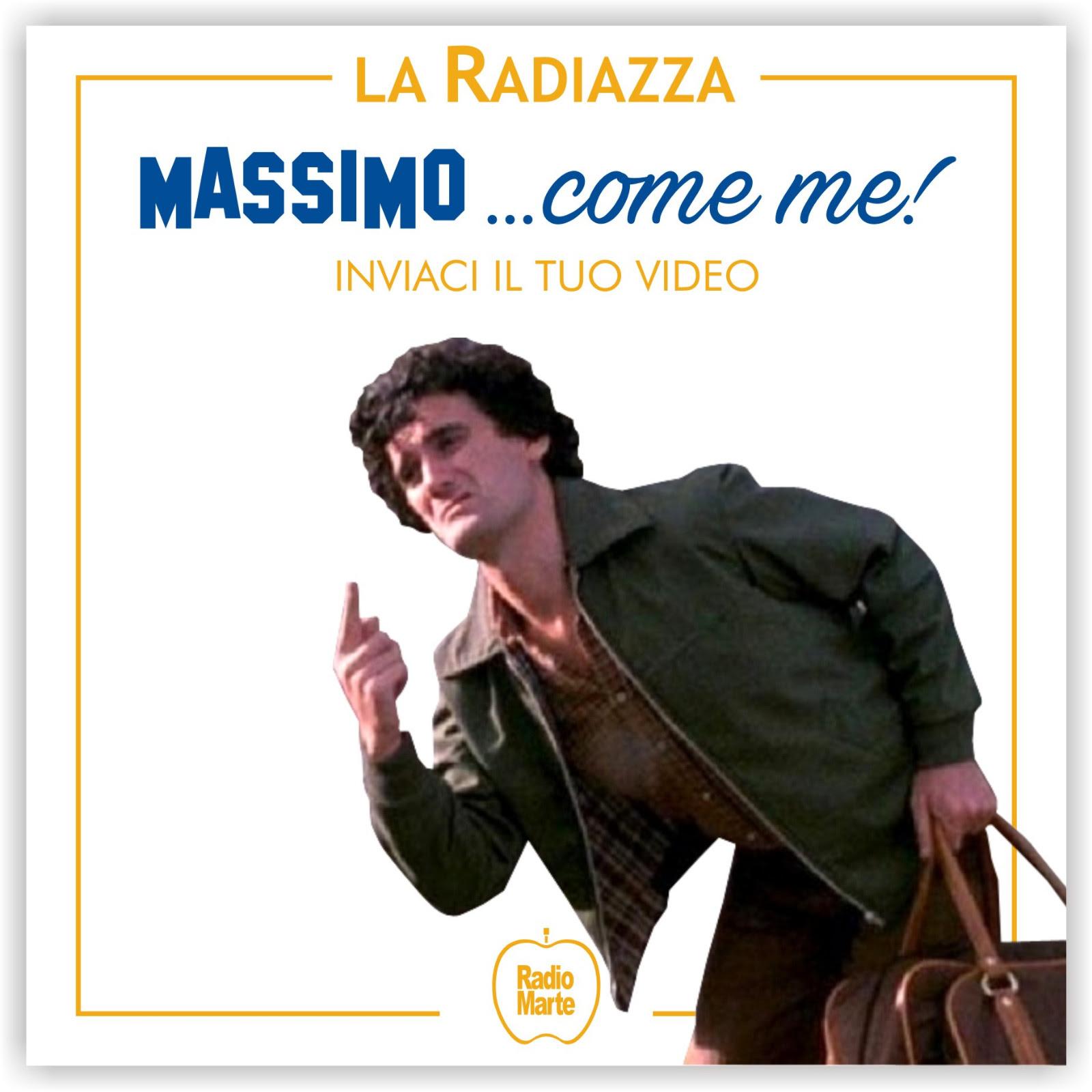 """Photo of """"Massimo… come me"""", """"La Radiazza"""" e il Sindaco di San Giorgio a Cremano lanciano l'iniziativa: chiunque può inviare un video in cui 'reinterpreta' uno sketch di Troisi, i più belli saranno prioiettati al cinema"""