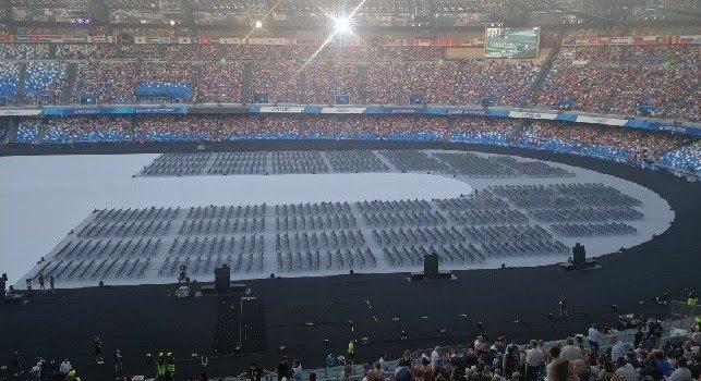 Photo of Spettacolo al San Paolo per la cerimonia di apertura delle Universiadi