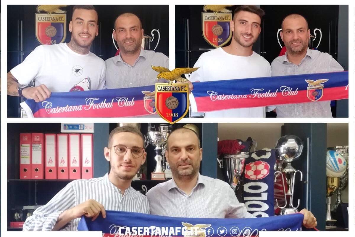 Photo of Adamo, Clemente e Lezzi sono della Casertana
