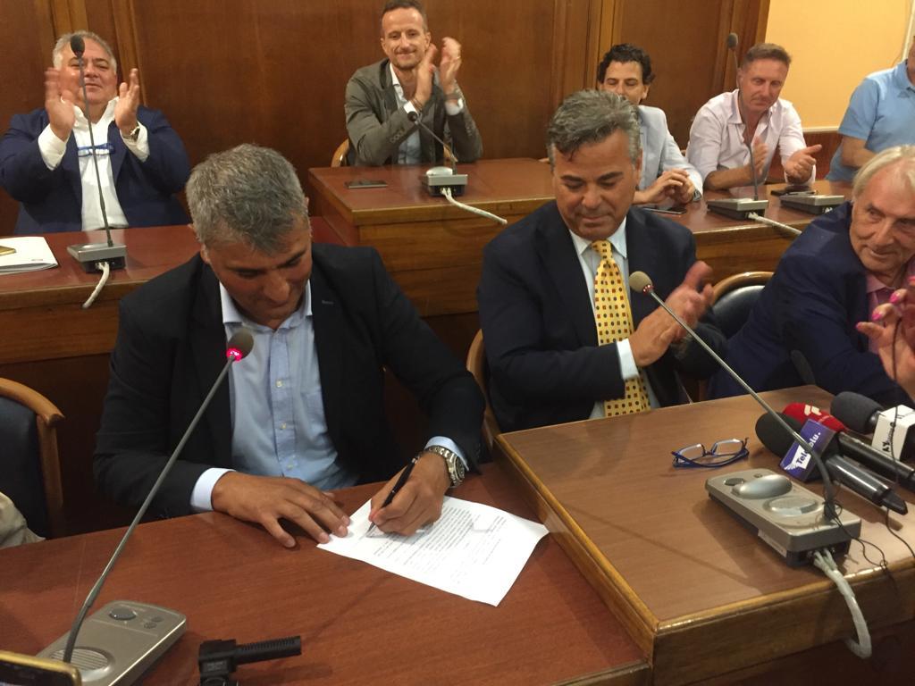 """Photo of Foggia, Felleca è il nuovo proprietario: """"Obiettivo? Fare calcio e vincere"""""""
