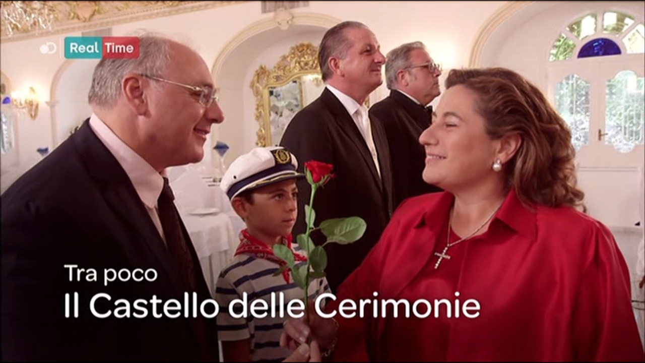 "Photo of Su Real Time ""Il Castello delle Cerimonie"": domani sera in TV"