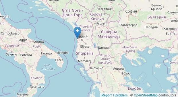 Photo of Albania, terremoto di 5.8 registrato pochi minuti fa: paura anche in Italia
